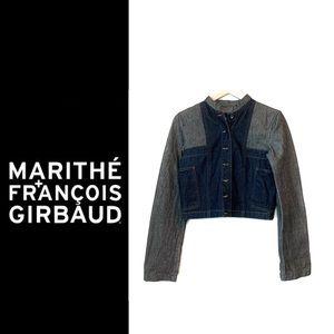 Marithe Francois Girbaud Cropped Denim Jacket